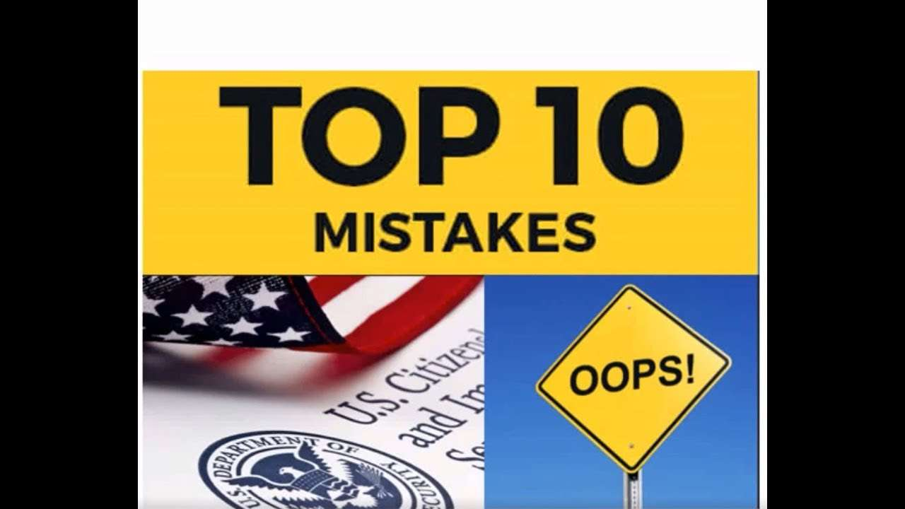 Cheap Immigration Medical Exam Mistakes